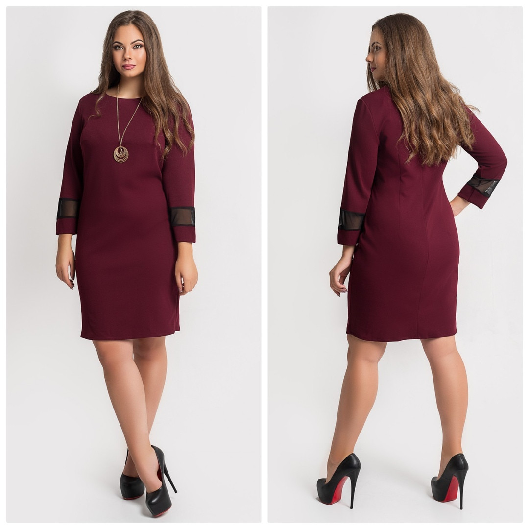 Женское модное платье  ОП1146 (бат)