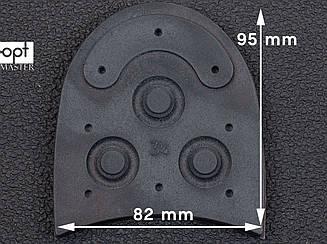 """Набойки DAINITE Studded, р. 3"""" (76 мм), цв. черный"""