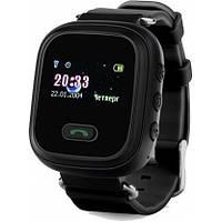 Умные детские смарт часы Q60 Smart Baby Watch GPS Black