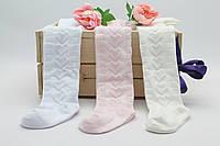 Колготки с рельефным узором для девочки 1-2 года