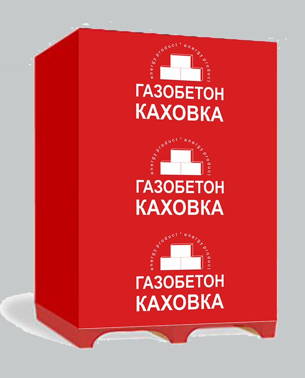 Газобетон 100мм* 60*20 /150 шт/ Каховка