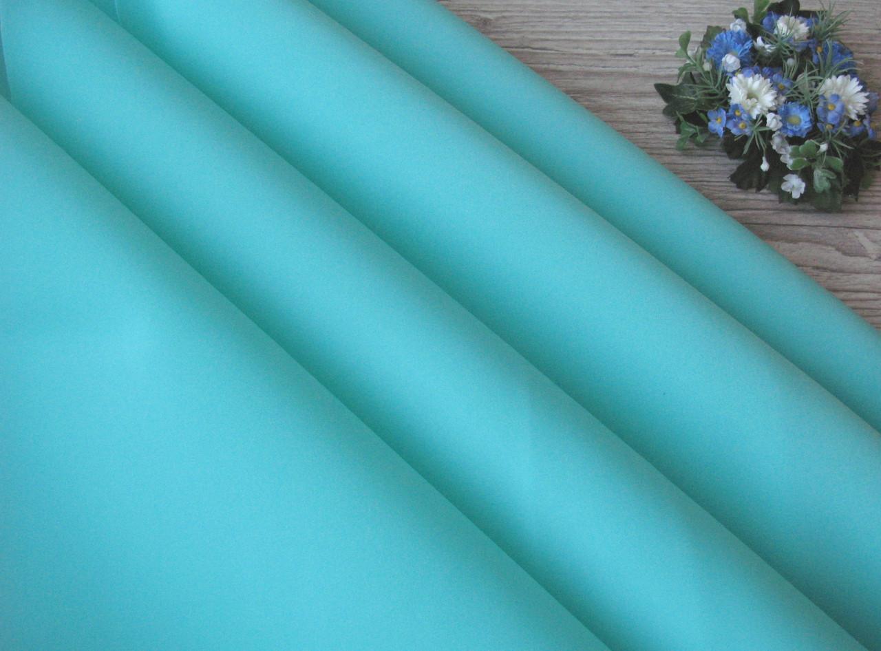 Зефирный фоамиран, Мятный - темный, 50 х 50см., 1 мм. - 22 грн.