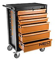 Шкаф тележка для инструментов NEO 6 - шуфляд!!!