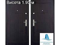 Двери входные металлические ТРС 09, высота 1.90 м
