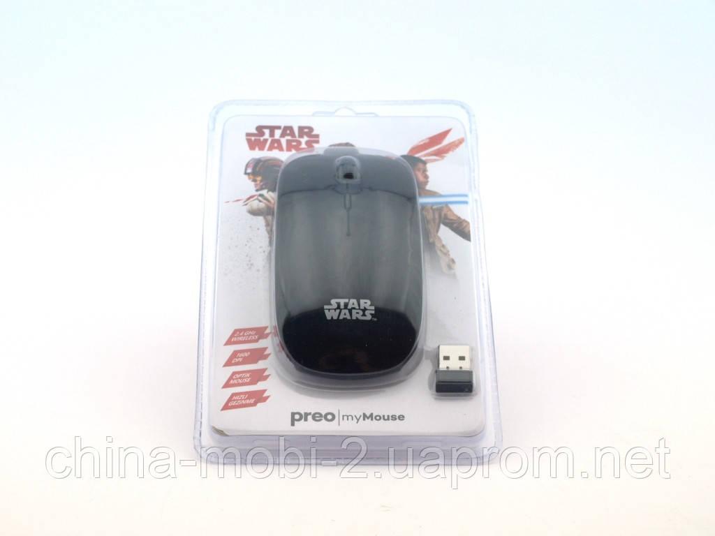 Mouse Star Wars беспроводная мышка MMSW01, черная