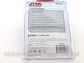 Mouse Star Wars беспроводная мышка MMSW01, черная, фото 2