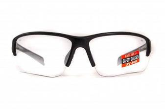 Защитные спортивные очки  Hercules-7 от Global Vision (США) прозрачная линза, фото 2