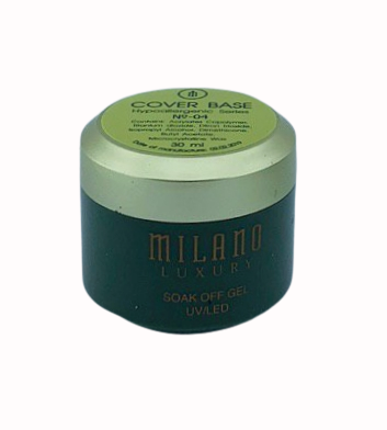Milano Luxury 30ml, Cover rubber Base Gel №04, фото 2
