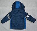 Детская демисезонная куртка для мальчика Fashion Boys синяя (Grace, Венгрия), фото 5