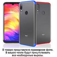 Матовый PC чехол GKK LikGus 360 градусов для Samsung A505F Galaxy A50 / A50s / A30s (выбор цвета)