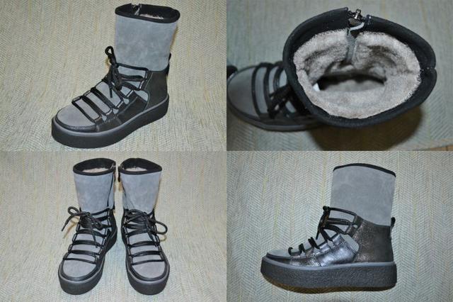 Женские зимние ботинки под угги, Masheros фото