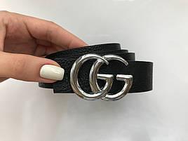 Ремень женский Gucci узкий