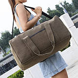 Холщовая сумка дорожная, фото 9