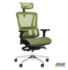 Кресло руководителя Аджаил (Agile Black Alum) (с доставкой), фото 2