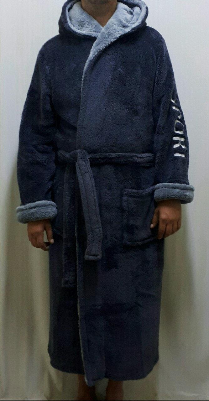 Махровый халат длинный мужской, банный Украина, размеры от 46 до 58