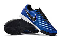 Футзалки (бампы) Nike Tiempo Legend VII Academy IC Racer Blue/Black/Metallic Silver, фото 1