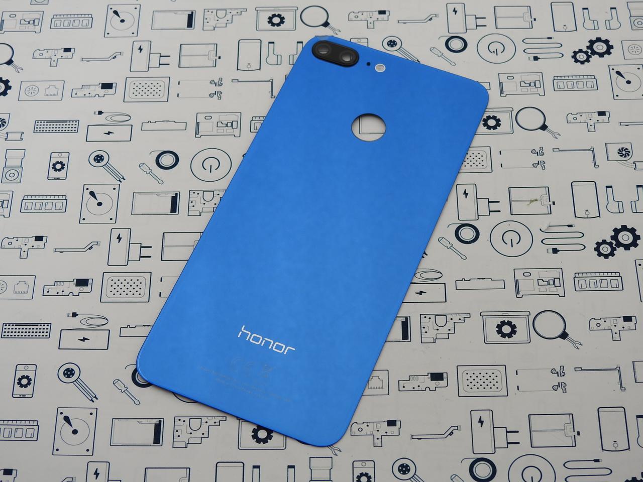 Уценка. Задняя крышка Honor 9 Lite (LLD-L31) синий Сервисный оригинал с разборки