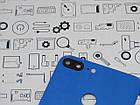 Уценка. Задняя крышка Honor 9 Lite (LLD-L31) синий Сервисный оригинал с разборки, фото 3