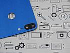 Уценка. Задняя крышка Honor 9 Lite (LLD-L31) синий Сервисный оригинал с разборки, фото 4