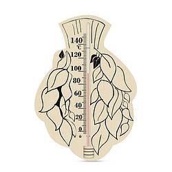 Термометр для лазні, сауни - Віник березовий