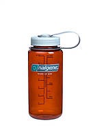 🔥✅ Бутылка для воды Nalgene Wide Mounth Темно-Оранжевая 500 мл.