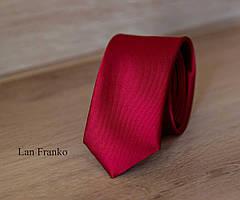 Галстук мужской узкий с рисунком | Lan Franko (Арт.: GMUR-LF085)