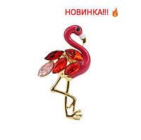 """Брошь """"Фламинго"""", фото 1"""