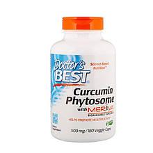 "Фитосомы куркумина Doctor's Best ""Curcumin Phytosome with Meriva"" 500 мг (180 капсул)"