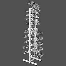 Сітчастий стелаж універсальний 30 см