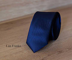 Галстук мужской узкий с рисунком | Lan Franko (Арт.: GMUR-LF045)