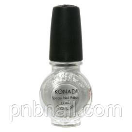 Лак для стемпинга Konad Silver (11ml)