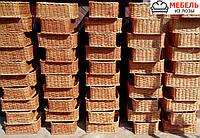 Плетеные лотки-короба для продуктов