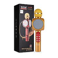 Микрофон-караоке беспроводной WSTER WS-1816, фото 1
