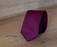 Галстук мужской узкий с рисунком | Lan Franko (Арт.: GMUR-LF042)