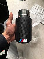 Одиночные насадки на выхлоп глушители BMW ///M Performance глушитель бмв 89мм на выход трубы выхлопные