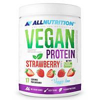 Allnutrition Vegan Protein, Strawberry 500 gr