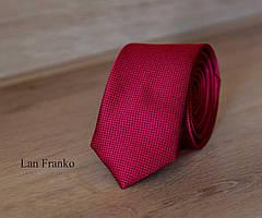 Галстук мужской узкий с рисунком | Lan Franko (Арт.: GMUR-LF040)