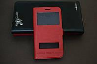 Чехол книжка для Huawei Y6 Pro (TIT-U02) Хуавей цвет красный