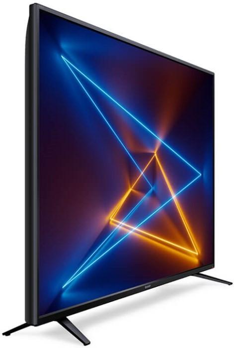 "Телевізор SHARP 55UI7252E / 55"" / UHD 4K / Active Motion 400 / HDR / Smart / Wi Fi / тюнер T2 S2 /"