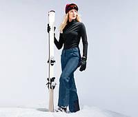 Красивые лыжные штаны,брюки на байке,мембрана 3000, от тсм чибо (tchibo), германия, укр 46-48, 48-50