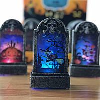 """Нічник """"Надгробок"""" на Хелловін, Ночник """"Надгробок"""" хэллоуин, фото 4"""