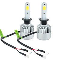 Partol S2 лампы светодиодные автомобильные с кулером под цоколь H1 P14.5S