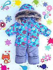 Зимний комбинезон +куртка на девочку 1-2,2-3,3-4,4-5 лет