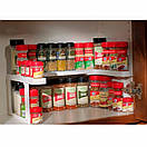 Полка-органайзер для специй spicy shelf, фото 7
