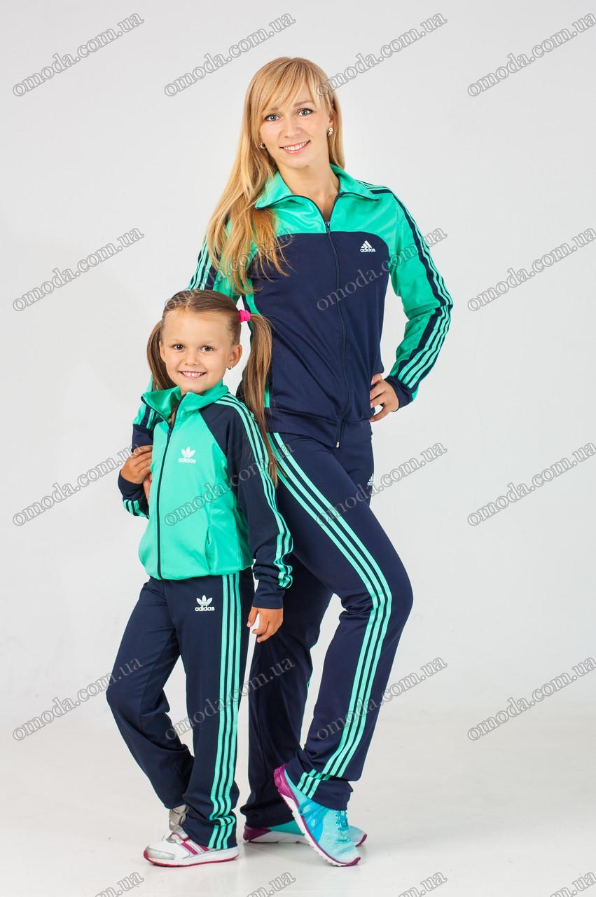 Спортивный костюм копия Adidas Family Style женский
