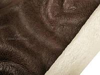 Дубленка Мерино с покрытием коричневая