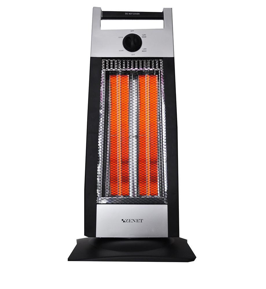 Инфракрасный карбоновый обогреватель Zenet ZET-507 черный для помещений до 30кв.м.