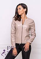 Куртка - пиджак из экокожи 001D/04, фото 1