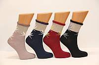 Женские носки средние с ворсистым верхом Y101-4