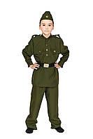 Детский карнавальный костюм Военного солдата для мальчика СП